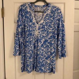Lilly Pulitzer Cotton tunic szL
